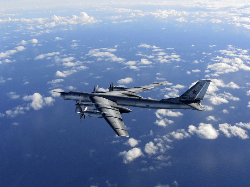 Russian Bombers Intercepted Over English Channel