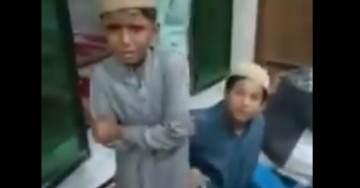 Holy Imam Caught on Camera Whipping Young Boys at Mosque with Rubber Hose During Koran Lessons