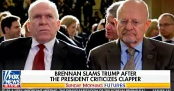 VIDEO: Watch Shameless Deep State Hacks Brennan, Clapper and McCabe LIE About Trump-Russia Collusion to American People
