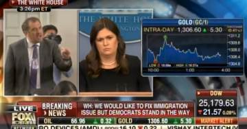 AWFUL! CNN Analyst Starts SCREAMING AT SARAH HUCKABEE SANDERS During Presser (VIDEO)