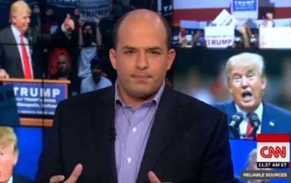 photo image WHAT A JOKE. CNN's Brian Stelter to Host World News Day Conference About Why 'Independent' and 'Fact-Based'…
