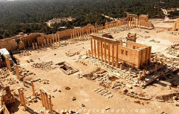 Breaking: ISIS Blows Up Ancient Bel Temple in Palmyra