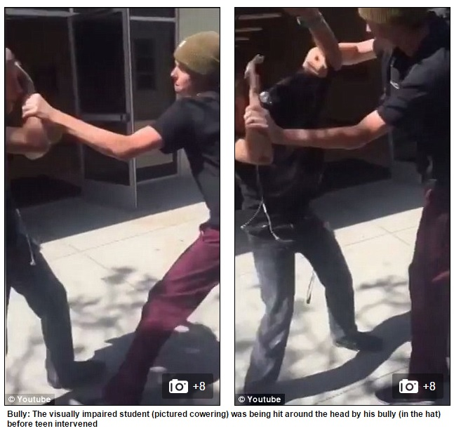 bully teen beating