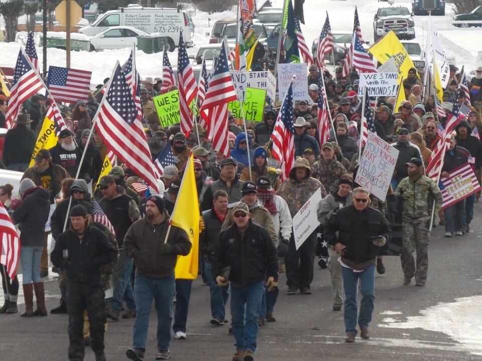 burns march protest