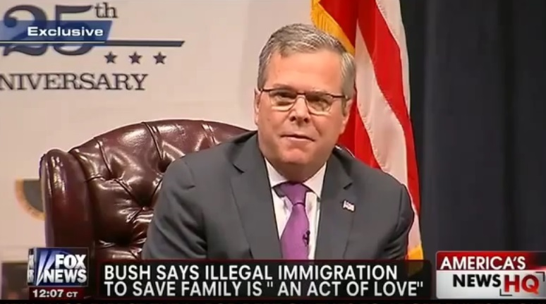 "NEW Trump Online Ad: ""This is No Act of Love as Jeb Bush Said"""