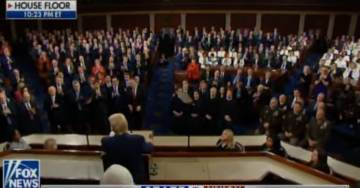 """WOW! Democrats Even Sit on Their Butts, Won't Even Stand for the """"Hand of Almighty God"""" (VIDEO)"""
