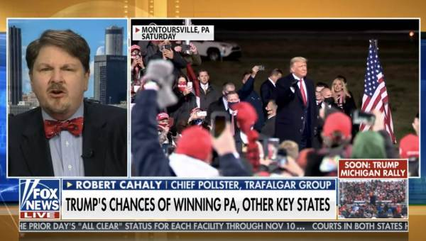 Trafalger Polling's Robert Cahaly Predicts HUGE Trump Win on Sunday Morning Futures