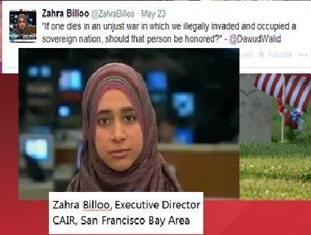 "Top CAIR Official Smears US Troops on Memorial Day: They ""Killed Innocent People"""