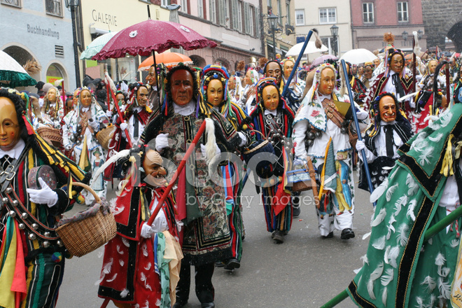 carnival parade germany