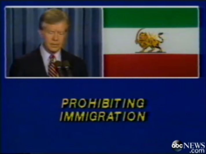 carter prohibiting immigration