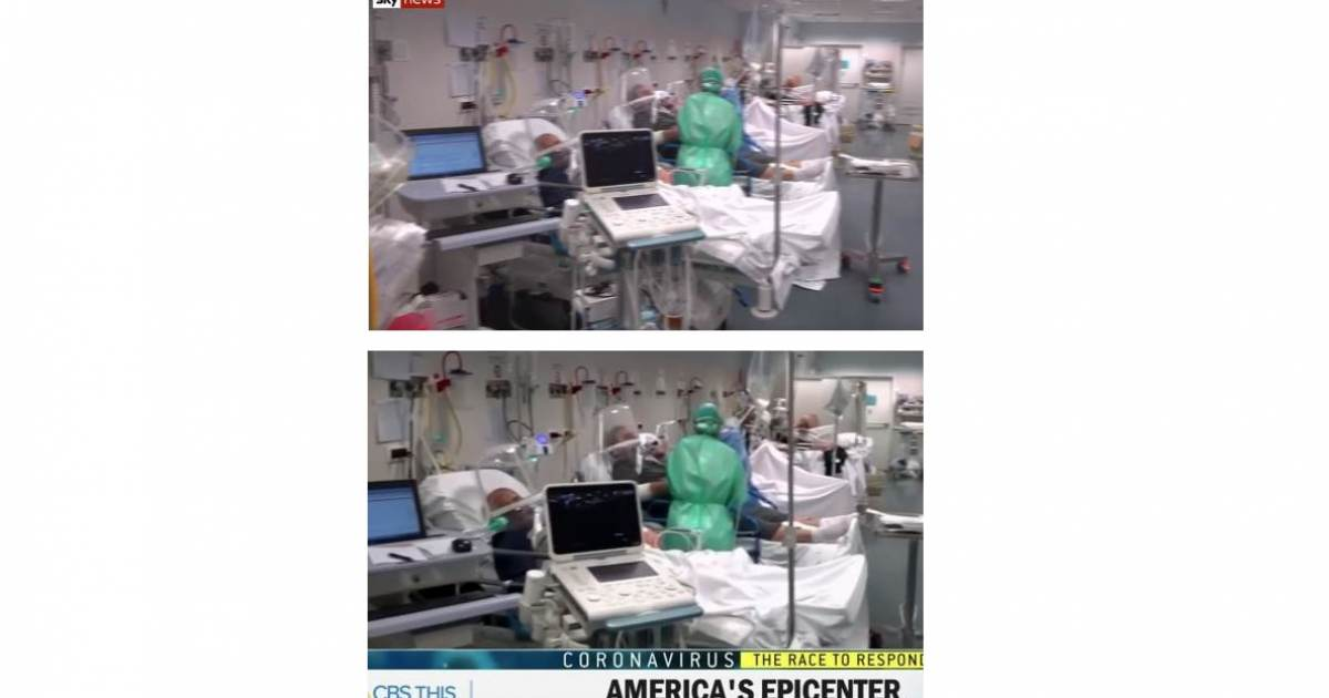CBS News Caught Using Footage from an Italian Hospital to Describe Conditions in New York City (VIDEO)