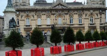 The NEW Europe: Austria, Sweden and Germany Decorate Anti-Jihadi Cement Blocks for Christmas