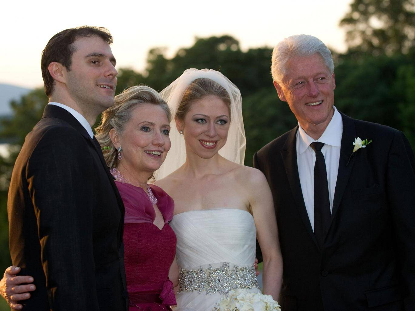 photo image Chelsea Clinton – the Woman Who Used Embezzled Haiti Disaster Cash to Pay for Her Wedding – Lectures Trump on Haiti