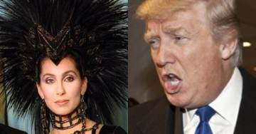 """Hah-Hah! Trump Tweets: """"I Finally Agree with Cher!"""""""