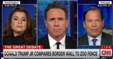 """Figures: CNN's Chris Cuomo Allowed Far Left Guest to Call Donald Trump Jr. """"Fredo"""" — Said Nothing (VIDEO)"""