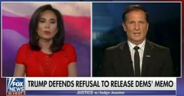 Boom! GOP House Intel Member Drops Bomb on Judge Jeanine: You're Going to Hear a Lot More About Bill Priestap (VIDEO)