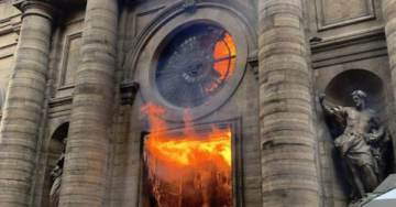 875 Catholic Churches in France Were Vandalized in 2018 by Radical Secularists and Muslims