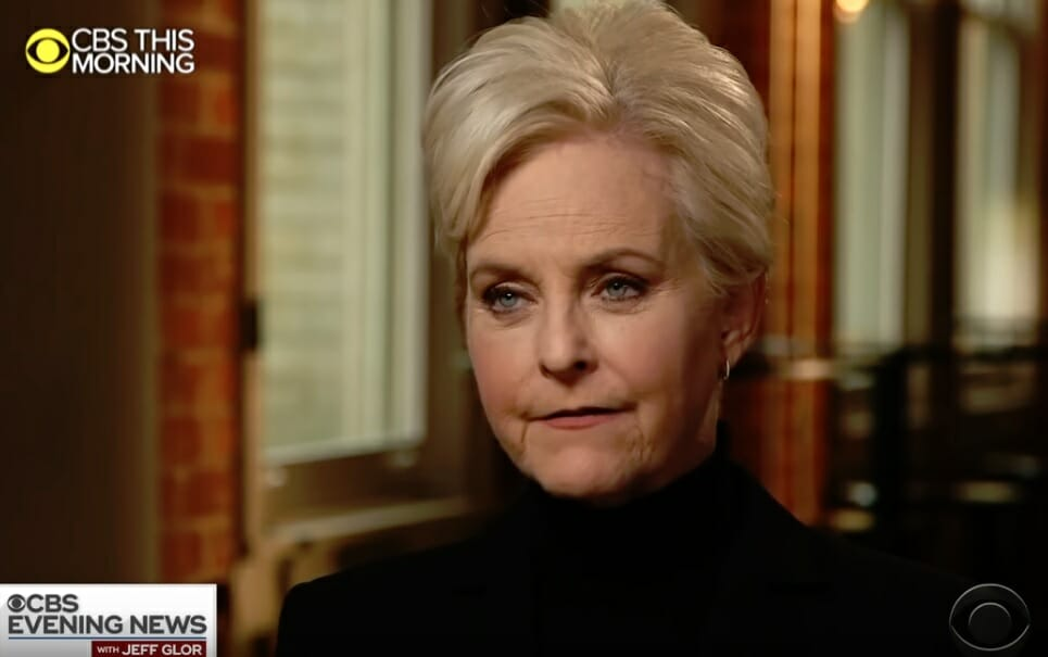Cindy McCain Trashes President Trump in First Interview Since John's Death (Video)