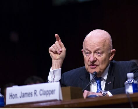 """Deep State James Clapper: Embedding Spy Inside Trump Campaign Is """"Standard Investigative Practices – Goes On All the Time"""""""