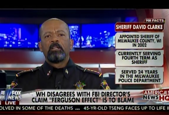 """Sheriff David Clarke: """"Obama Suffers from Classic Narcissistic Personality Disorder"""" (VIDEO)"""