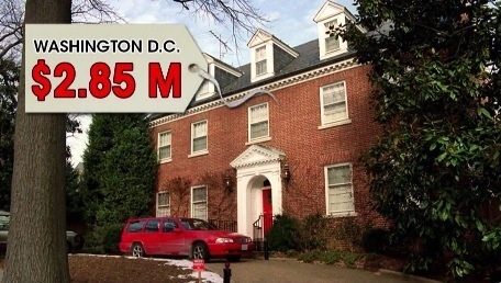 clinton dc mansion