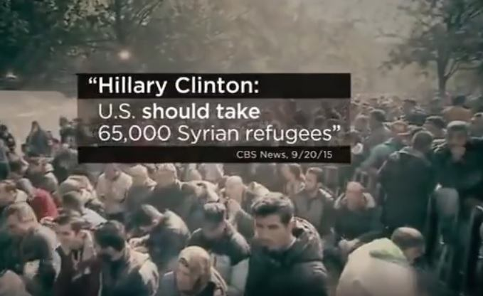 clinton syrian refugees
