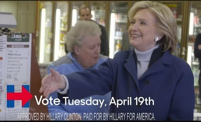 Former Arkansas First Lady Hillary Clinton Lectures Trump: You're No New Yorker! (VIDEO)