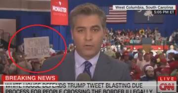 ATTN LYING MEDIA: No Reporters Have Been Attacked at Trump Rallies by Trump Supporters