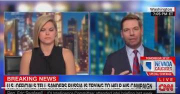 "Dingbat Swalwell: ""Can't Hold it Against Bernie Sanders that this May Be a Preference of Russia, But YOU CAN hold it, and Ask Questions of Trump"" (Video)"
