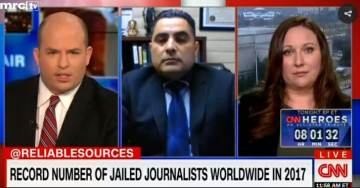 More #FakeNews: CNN Panel Says Trump Leads World in Press Crackdown
