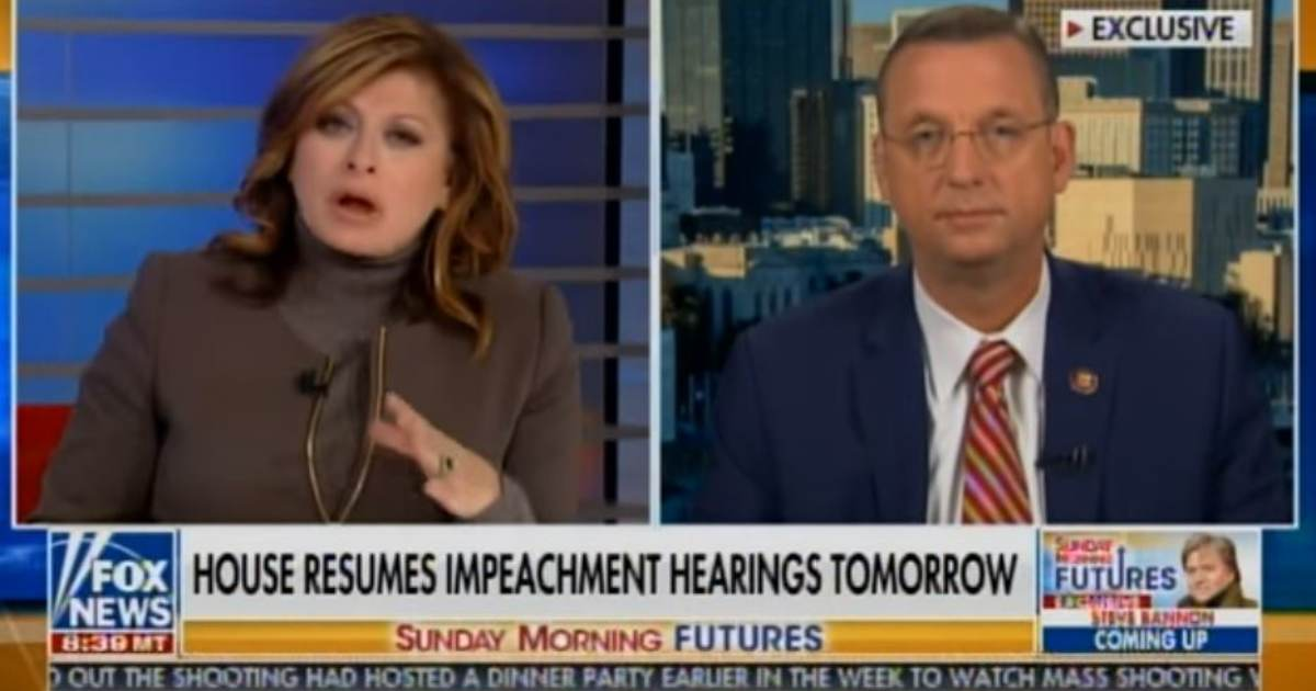 BREAKING: Rep. Doug Collins Calls for Delay in Impeachment Hearings After Dems Dump Thousands of Documents on GOP Just Hours Before Hearing (VIDEO)