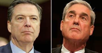 Comey Praises Dirty Cop Mueller Ahead of Testimony as 'American Patriot with Principles'