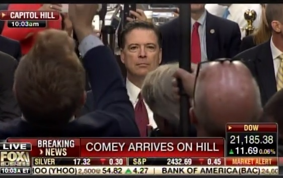 comey poses  - COMEY Shared Personal Classified Govt Notes with Friend – Tried and Convicted GENERAL PETRAEUS of the Same