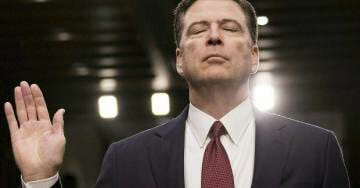 James Comey Strangely Silent After His Partner-in-Crime Peter Strzok Fired