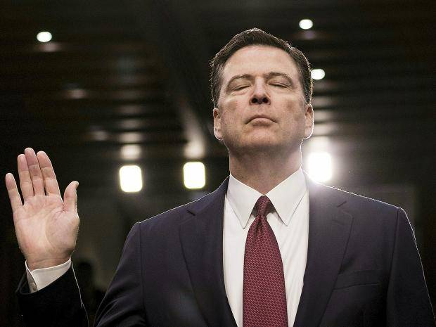 photo image Leaker Comey Led Meeting with FBI Leadership to Discuss How Leaking Hurts the FBI