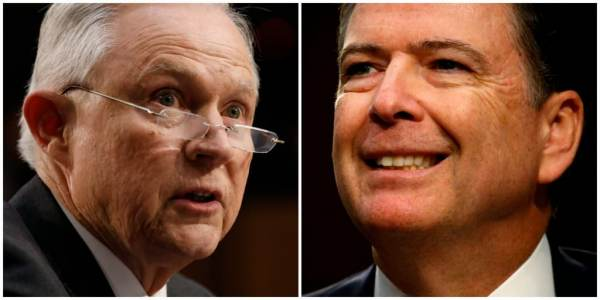 photo image DOJ Bars Senate Intel Committee From Interviewing FBI Officials on Comey Firing