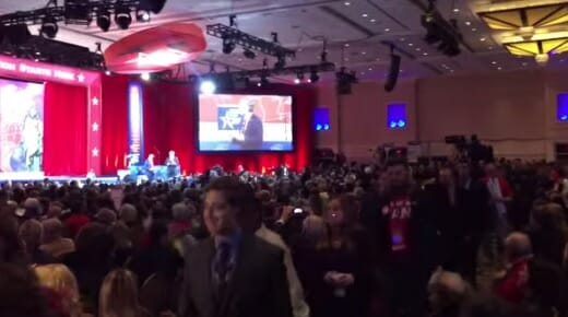 conservative audience cpac bush