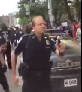cop cleveland pepper spray