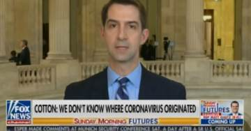 "Coronavirus ""Did Not Start at the Wuhan Animal Market"" – China's Only Level 4 Super Lab ""Is Only a Few Miles Away"" – Sen. Tom Cotton Drops a BOMB on Sunday Morning Futures (VIDEO)"