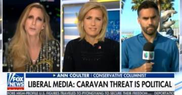 ANN COULTER on Caravans: Democrats Wanted a Political Stunt and Women and Children Are Being Killed Because of It (VIDEO)