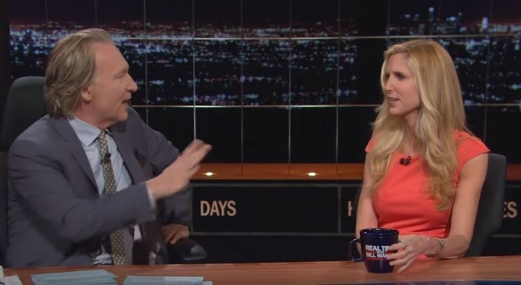 coulter trump maher