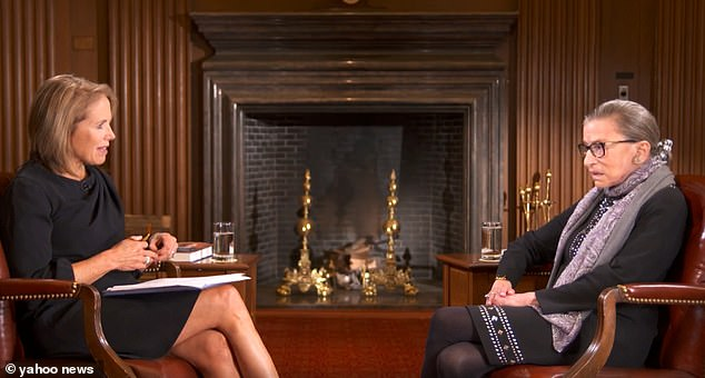 """KATIE COURIC ADMITS To Editing 2016 Interview With Ruth Bader Ginsberg About """"Stupid and Arrogant"""" People Who Kneel For US Anthem …Claims Supreme Court Justice Was Too Old To Know What She Was Saying"""