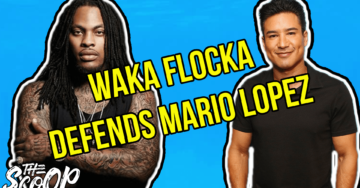 WATCH: Popular Rapper Waka Flocka Defends Mario Lopez's Comments About Transgender Children