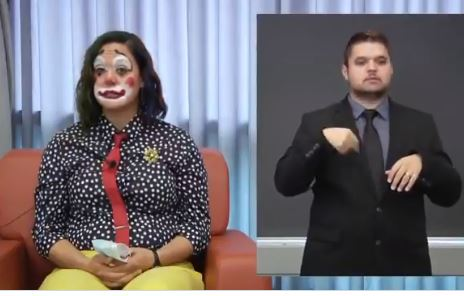 WTH? Another Crackpot Democrat: Oregon's Health Minister Dresses as a Clown to Announce Latest Coronavirus Deaths