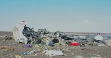 BREAKING=> FIRST VIDEO of Russian Jet 7K9268 A321 Crash Site in Sinai