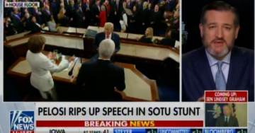 """When the President Talked About 7 Million People Coming Off of Food Stamps – Congressional Democrats Hissed"" – Ted Cruz GOES OFF on SOTU Democrats (VIDEO)"