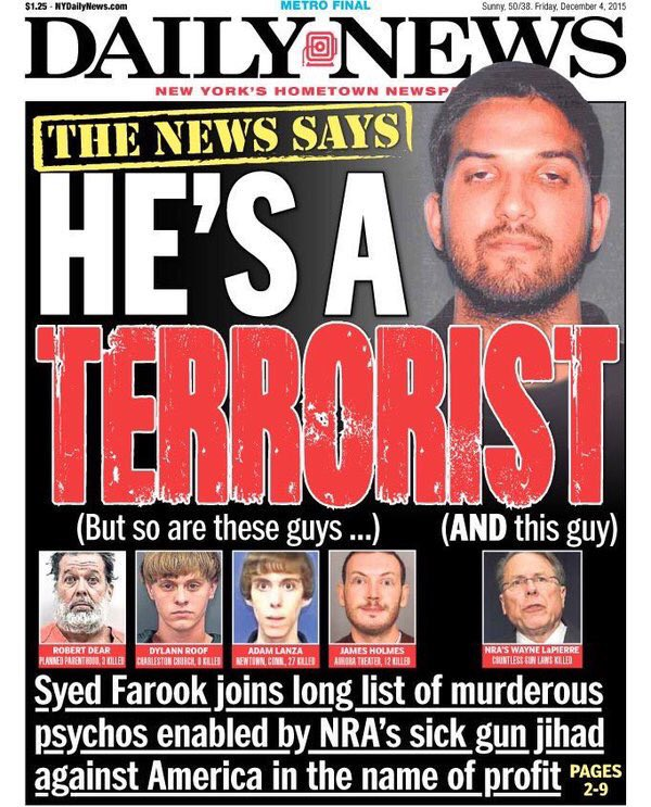 daily news cover double down