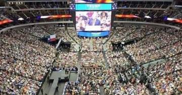 AMAZING! Over 100,000 RSVPs For Houston Trump Rally With Ted Cruz – Tailgater Set Up Outside to Accommodate Massive Crowd
