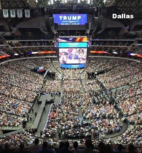 dallas trump rally