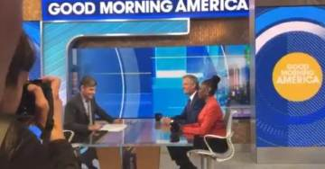 "EPIC! Bill De Blasio Goes on Good Morning America to Announce Run for President — Crowd Chants, ""LIAR! LIAR!…"" (VIDEO)"